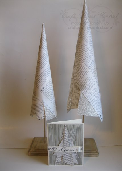 Contemporary Christmas Trees & Card