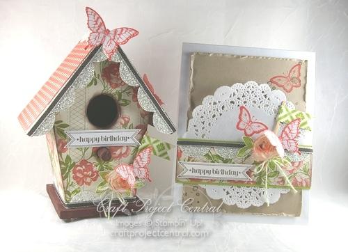 Altered Birdhouse Card