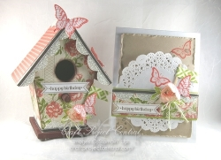 Altered Birdhouse & Card