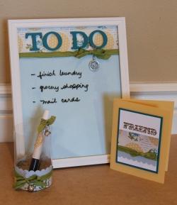 Dry Erase Board Gift Set