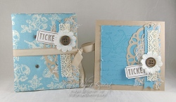Fabric Covered BooK & Card