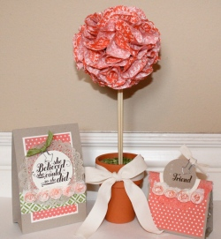 Tea for Two Topiary Gift Set2