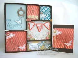 Shadowbox & Greeting Card