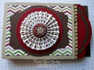 Envelope Punch Board Mini Album