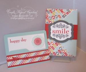 Envelope Punch Board Photo Holder