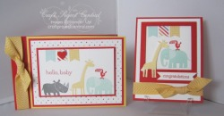 Zoo Babies Brag Book & Card