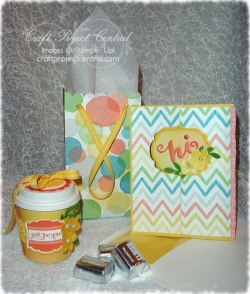 Mini Cup Treat Holder & Gift Bag
