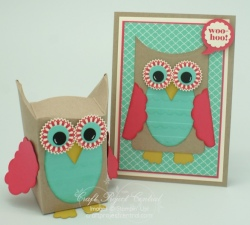 Owl Card & Gift Box