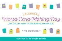 World Card Making DayPromotion
